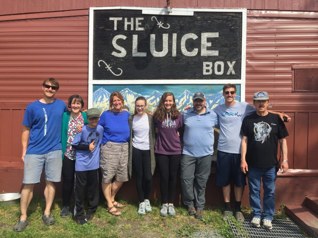 The Sluice Box Bar at Clearwater Mountain Lodge